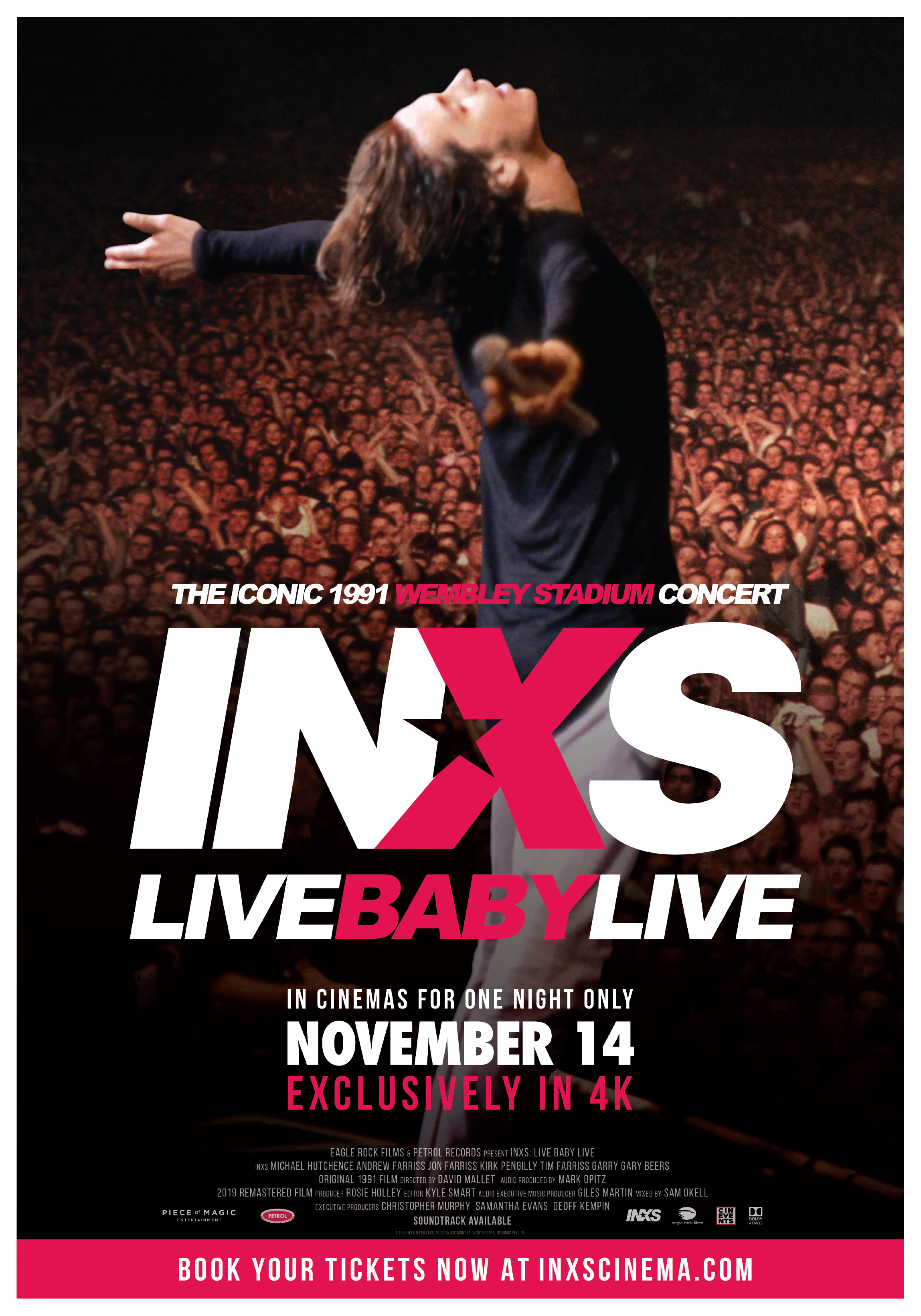 Poster of INXS: Live Baby Live at Wembley Stadium