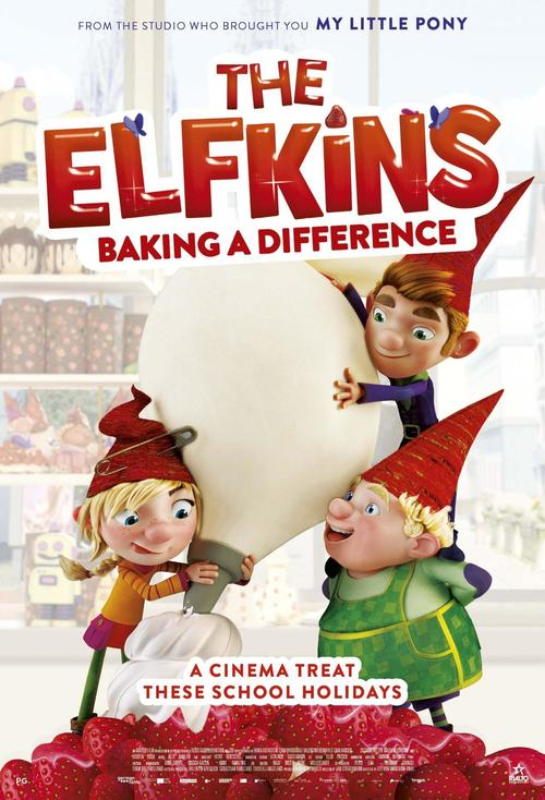 Poster of The Elfkins - Baking a Difference