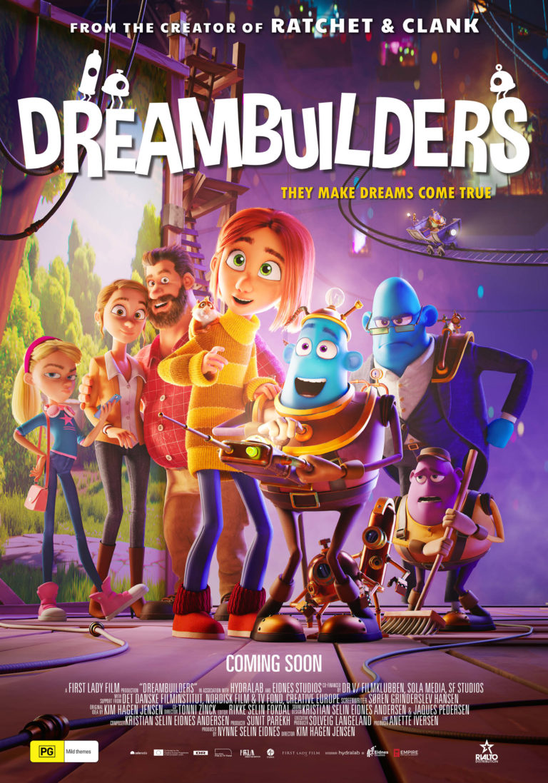 Poster of Dreambuilders